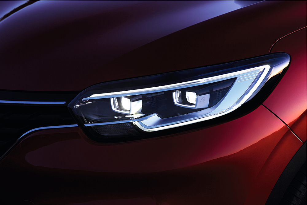 Renault Kadjar phare led